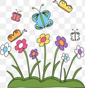 Spring Cliparts - Spring Flower Blog Clip Art PNG