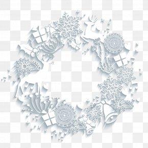 Christmas Wreath - Christmas Euclidean Vector PNG