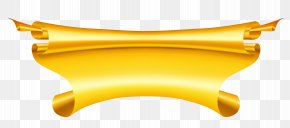 Banners - Ribbon Gold Clip Art PNG