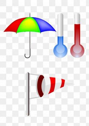 Umbrella Weather Forecast Weather Vane - Weather Forecasting Rain Wind PNG