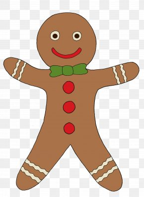 Cookie - Candy Cane Gingerbread House Gingerbread Man Clip Art PNG