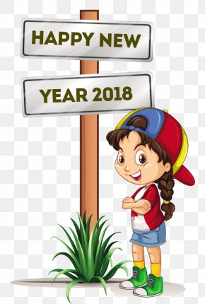 Happy New Year - Drawing Stock Photography Clip Art PNG