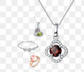 Necklace - Fashion Accessory Locket Necklace Bracelet Taobao PNG