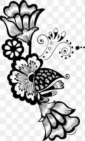 Decorative - Flower Floral Design Clip Art PNG