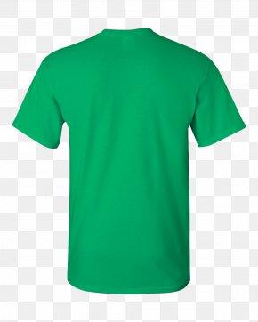 Shirt - Printed T-shirt Gildan Activewear Sleeve Neckline PNG