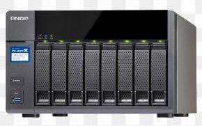 SATA 3Gb/s QNAP Systems, Inc.Others - QNAP TS-831X NAS Tower Ethernet LAN Black Network Storage Systems QNAP TS-239 Pro II+ Turbo NAS NAS Server PNG