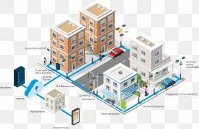 Smart City - Smart City Wireless LAN Controller Computer Network Wireless Access Points PNG