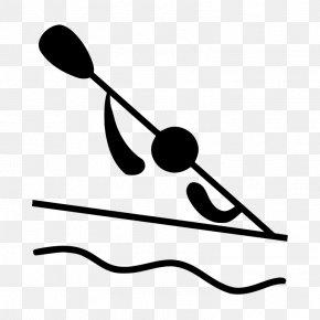 Slalom - Canoeing And Kayaking At The Summer Olympics Clip Art: Transportation Canoe Slalom Clip Art PNG