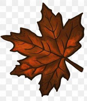 Maple Leaf Cliparts - Maple Leaf Brown Clip Art PNG