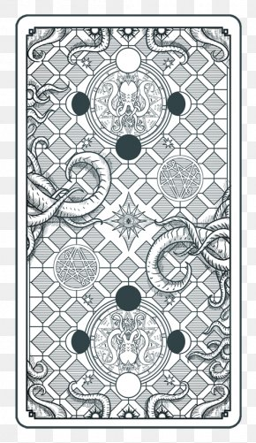 The Call Of Cthulhu French Tarot Playing Card Tarotology PNG