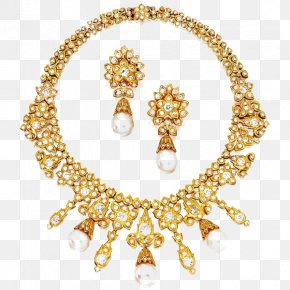 Jewelry Sets - Pearl Necklace Jewellery Van Cleef & Arpels Diamond PNG