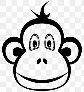 Monkey - The Evil Monkey Primate Ape Clip Art PNG