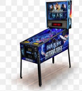 Amusement Arcade - Pro Pinball: Timeshock! Stern Electronics, Inc. Star Trek: The Next Generation PNG