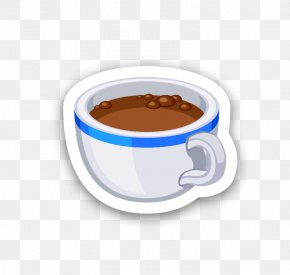 Coffee - Coffee Cup Espresso Ristretto Cafe PNG