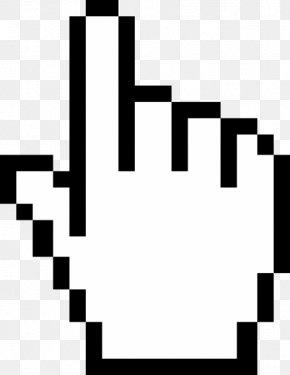 Click Cliparts - Computer Mouse Cursor Pointer Hand Clip Art PNG