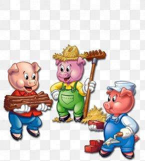 Three Little Pigs] - Domestic Pig Goldilocks And The Three Bears The Three Little Pigs Clip Art PNG