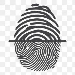 Fingerprint Tree Effects - Fingerprint Royalty-free Thumb Illustration PNG
