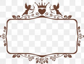Brown Crown Frame - Recreation Brown Area Pattern PNG