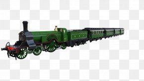 Train Steam - Train Rail Transport Passenger Car Commuter Rail PNG