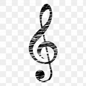 Musical Note - Treble Clef Musical Note Clip Art PNG
