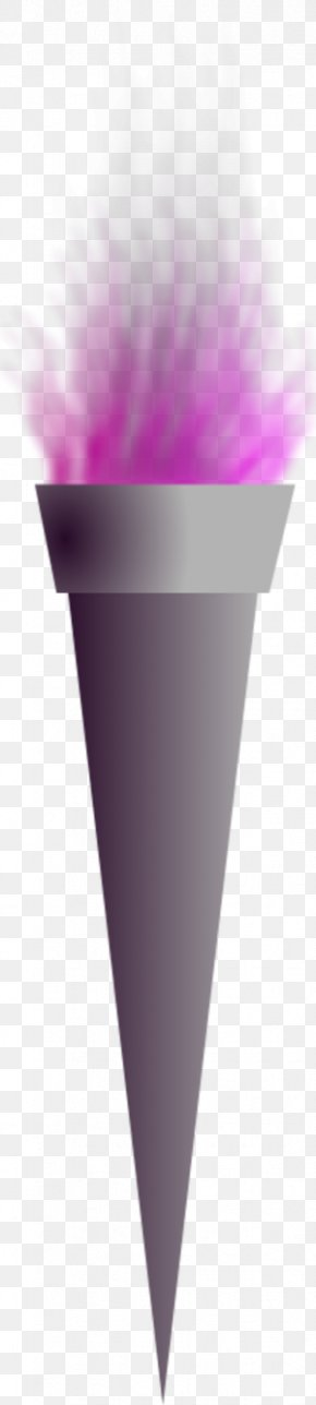Clip On Torch - Ice Cream Cone PNG