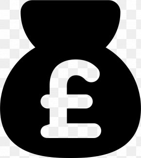 Money Bag - Pound Sign Money Bag Pound Sterling Currency Symbol PNG