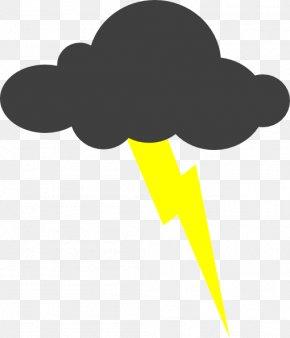 Thunder Cliparts - Thunderstorm Lightning Clip Art PNG