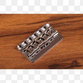 Antique Bridge - Stainless Steel Electric Guitar Metal Nickel PNG