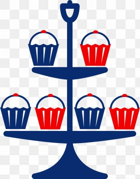 Stand By Cliparts - Cupcake Bakery Birthday Cake Clip Art PNG