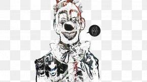 Clown - Evil Clown Art PNG