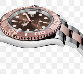 Pink Rolex Watch Male Table - Rolex Yacht-Master Rolex Submariner Watch Clock PNG