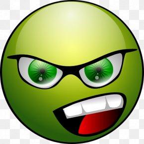 Moving Emoticons - Smiley Emoticon Green Clip Art PNG
