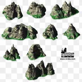 Mountains - Isometric Graphics In Video Games And Pixel Art 2D Computer Graphics Sprite Mountain PNG