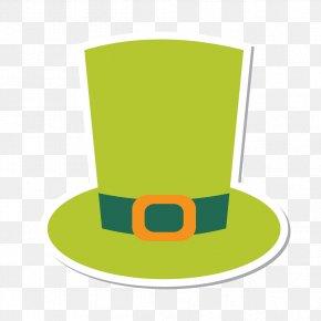 Green Hat Cartoon - Bowler Hat PNG