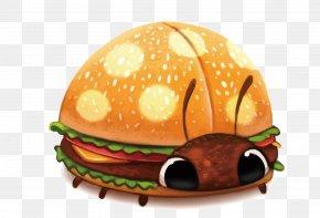 Vector Burger Ladybugs - DeviantArt Drawing Cheeseburger Digital Painting PNG