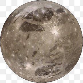 Jupiter - Ganymede Moons Of Jupiter Galilean Moons Natural Satellite PNG