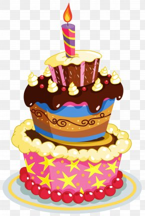 Colorful Birthday Cake Clipart - Birthday Cake Clip Art PNG