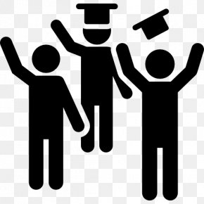 Party People - Graduation Ceremony Party Square Academic Cap PNG