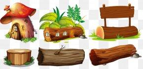 Various Modeling Billboard Design - Wood Lumberjack Illustration PNG