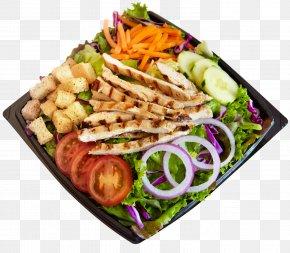 Habit Burger Salad - Hamburger Caesar Salad Chicken Salad Submarine Sandwich PNG