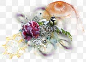Light Effect - Cut Flowers Floral Design Flower Bouquet Christmas PNG