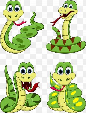 Snake Cartoon Image Free Matting - Snake Cartoon Royalty-free Clip Art PNG