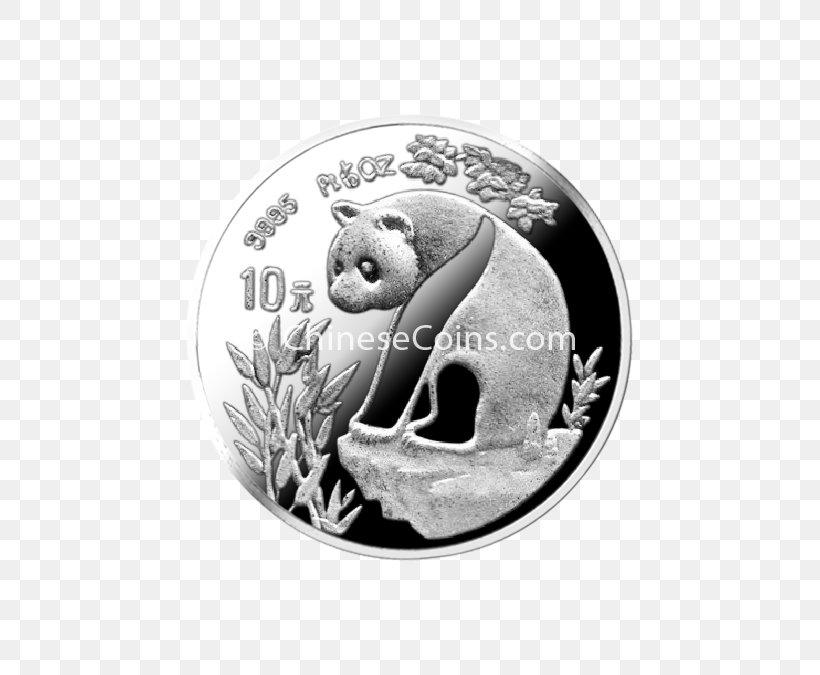 Coin Chinese Silver Panda Giant