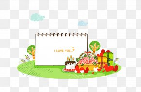 Birthday Creative Cartoon Poster Illustration - Poster Illustration PNG