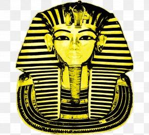 Pharaoh - Tutankhamun's Mask Ancient Egypt Pharaoh Egyptian PNG