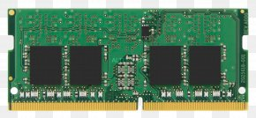 RAM - DDR4 SDRAM Kingston Technology SO-DIMM Random-access Memory Computer Data Storage PNG