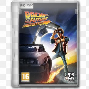 Back To The Future The Game - Pc Game Action Figure Technology Video Game Software PNG