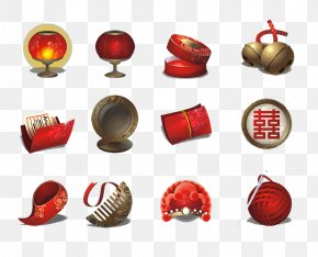 Chinese New Year - Chinese New Year Lantern Icon PNG