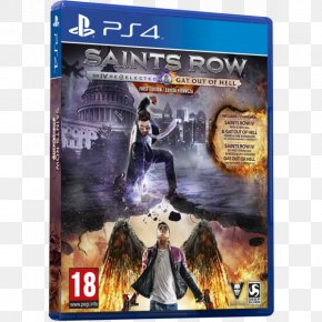 Saints Row Gat Out Of Hell - Saints Row IV Saints Row: Gat Out Of Hell Xbox 360 Video Game PNG