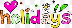 Happy Spring - School Holiday Christmas Clip Art PNG